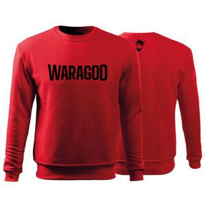 WARAGOD pánská mikina FastMerch, červená  300g/m2 - S