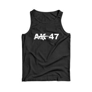 Waragod pánské tílko AK-47, černá 160g/m2 - L
